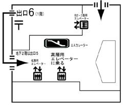 文京シビックセンターレイアウト図